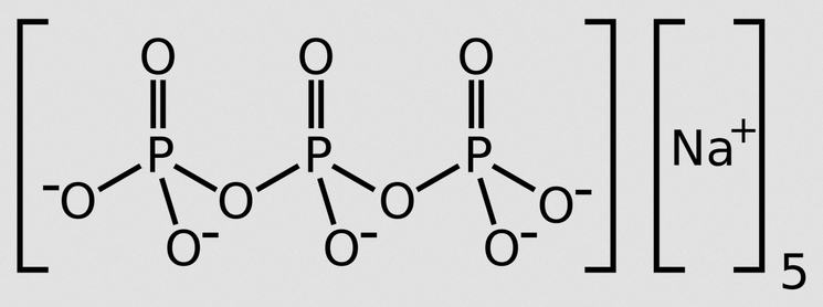 Наличие триполифосфата  натрия в стиральных порошках
