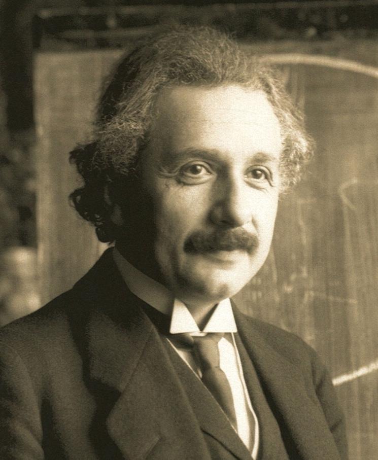 Фотография Альберта Эйнштейн, 1921 год