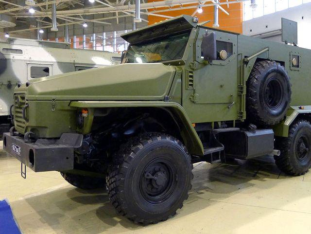 Бронеавтомобиль Урал-4320-ВВ