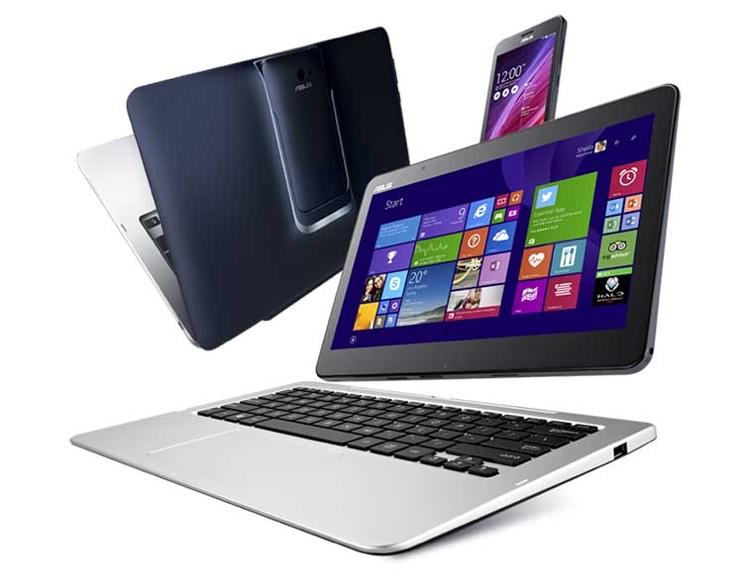 Компания ASUS представила планшеты Transformer Book