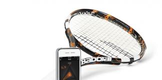 Умная теннисная ракетка babolat play