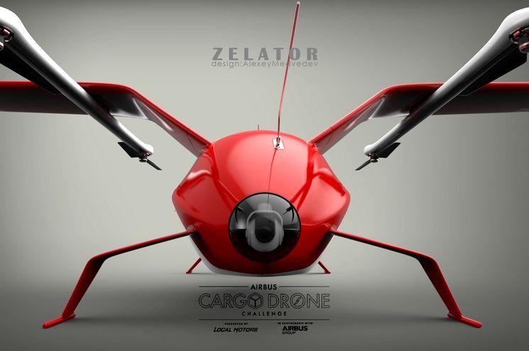 Концепт-беспилотник Zelator 28 для Airbus