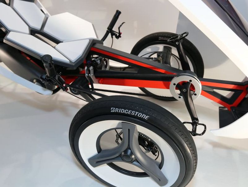 Bridgestone's electric tricycle