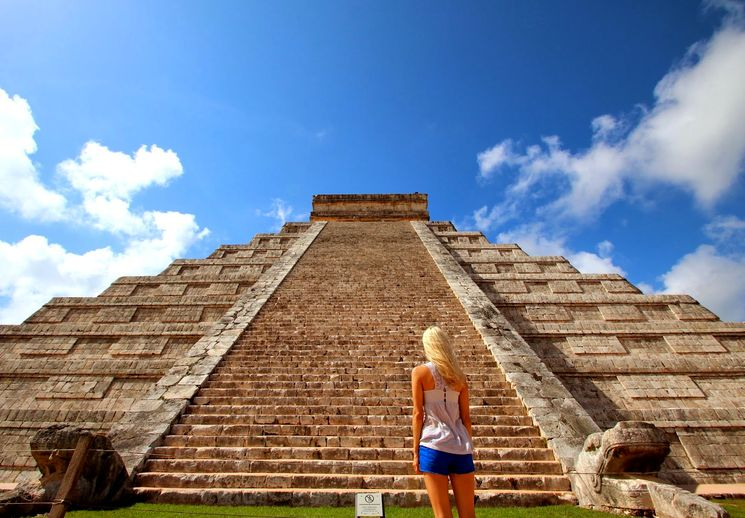 Тайна пирамиды Эль Кастилио