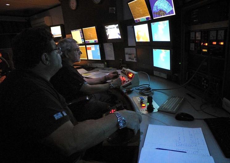 Штаб поисковой миссии Deep Ocean Search