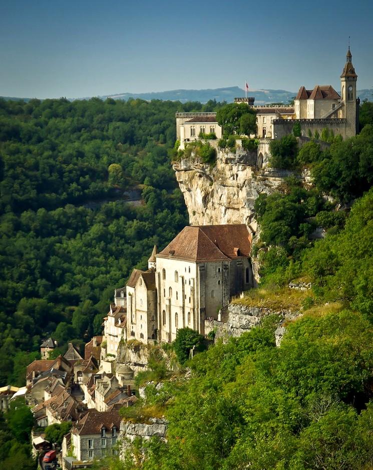 Рокамадур, город во Франции