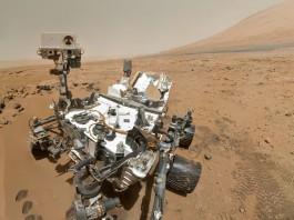 Марсоход Curiosity изучает планету Марс