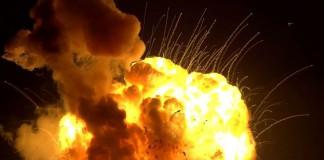 Крушение ракеты Antares 29.10.2014