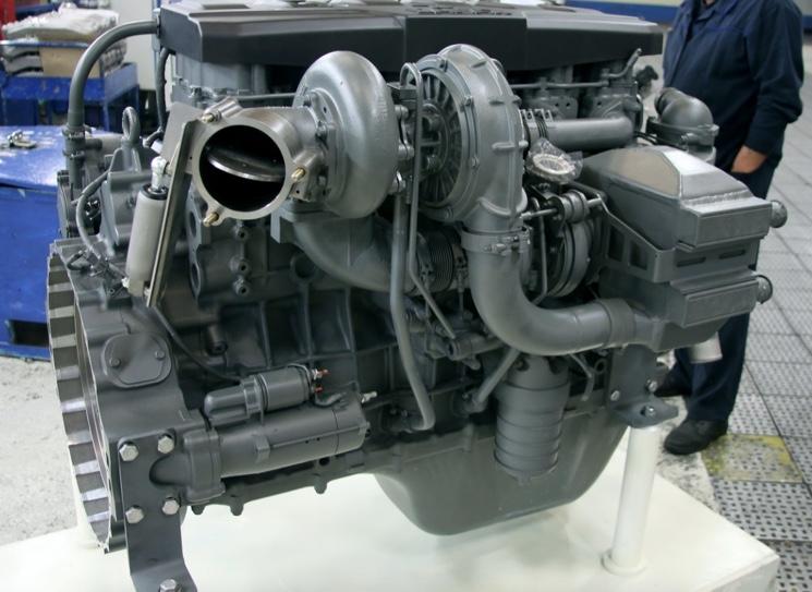 Дизельный двигатель P6 для седельного тягача камаз 54901