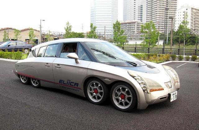 Японский электромобиль SIM-Drive Ellica