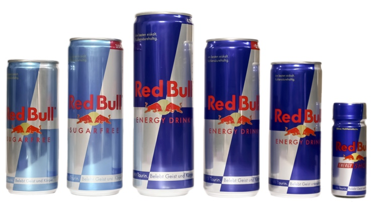 Red Bull - популярный энергетик
