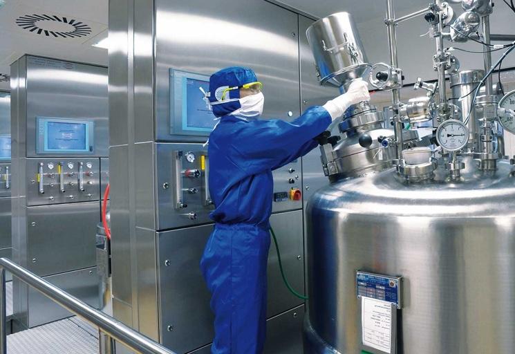 Фармацевтическое производство в России