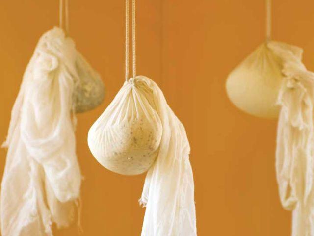 Производство козьего сыра