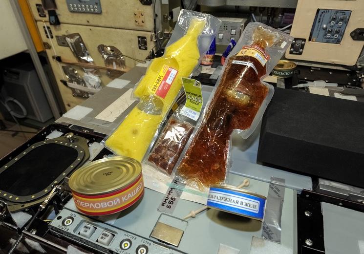 Рацион еды для космонавта