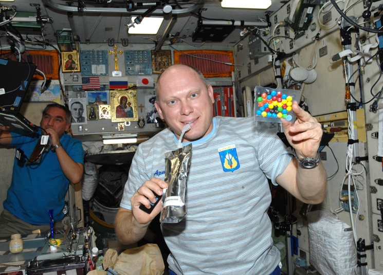 Что едят космонавты на орбите