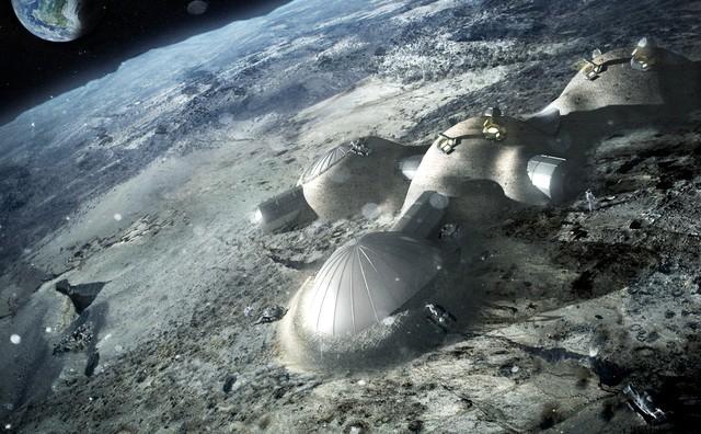 Новая лунная база от Foster and Partners