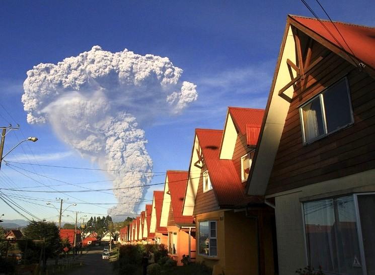 Фото вулкана Кальбуко, Carlos F. Gutierrez | AP
