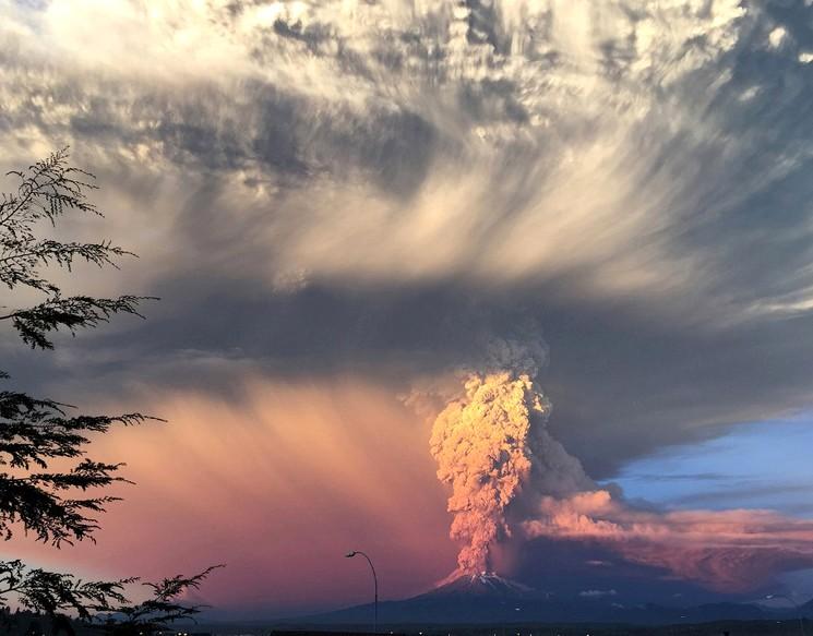 Активный вулкан Кабулько, Чили, Rafael Arenas | Reuters