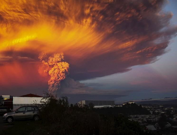 Извержение вулкана Кальбуко в Чили, 23 апреля 2015, Sergio Candia | Reuters