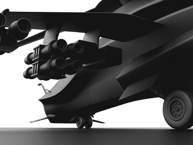 Концепт боевого вертолета будущего