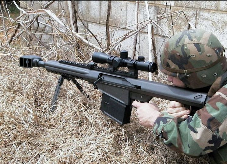 Гранатомёт Barrett XM109