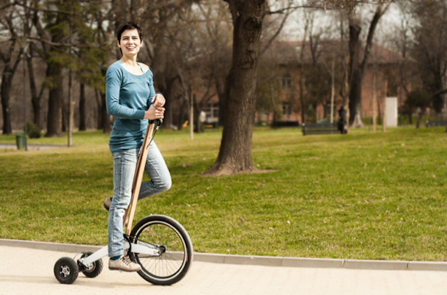 велосипед Halfbike