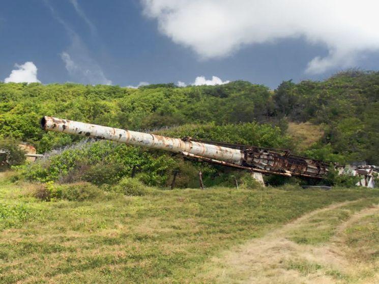 Пушка проекта HARP на Барбадосе