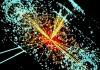 Появление бозона Хиггса при столкновении протонов
