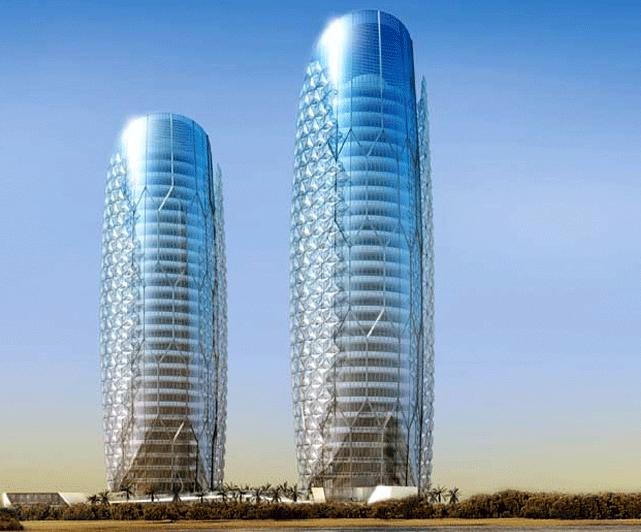 Лифты Hitachi в небоскребах
