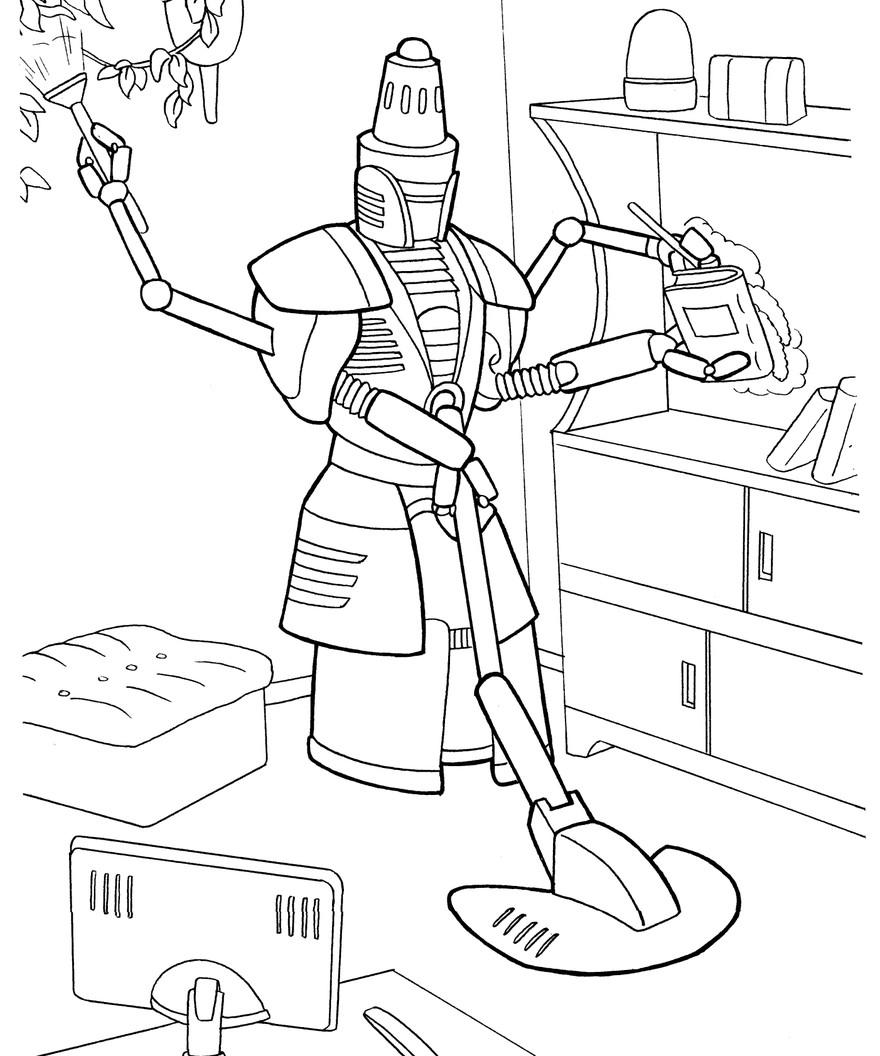 Домашний робот-помощник