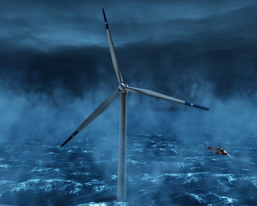 Hywind - ветровая плавающая электростанция