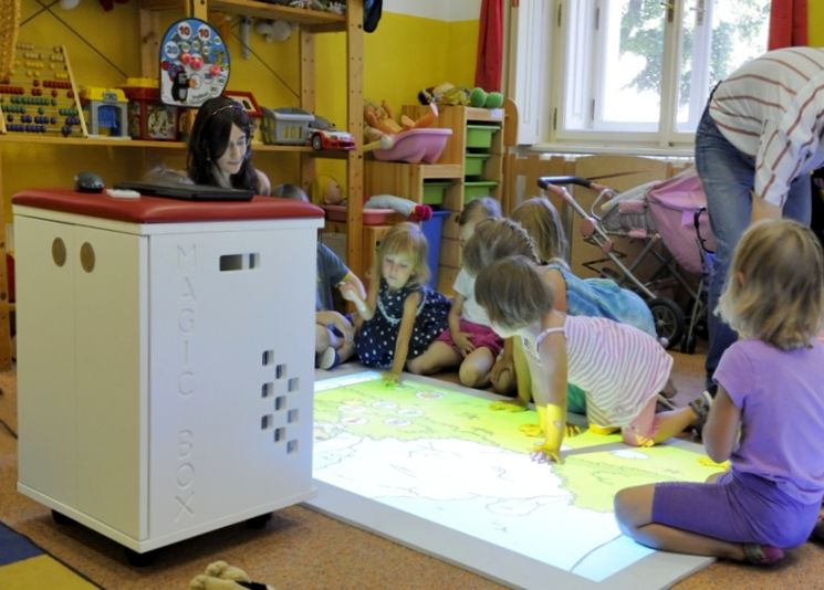 Интерактивные технологии в детском саду
