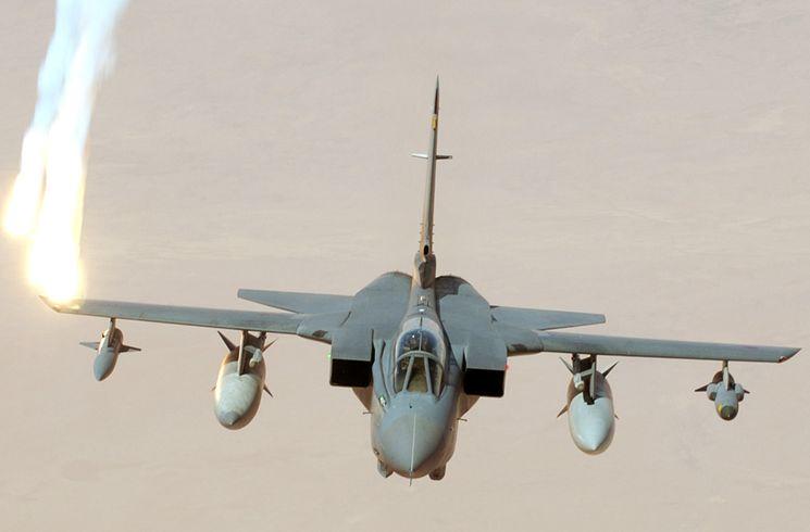 Истребитель-бомбардировщик Tornado GR4