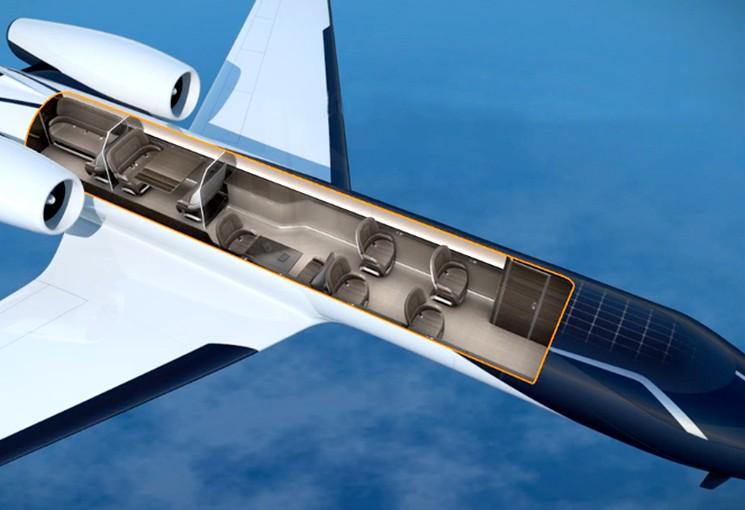 Самолет концепт IXION Jet