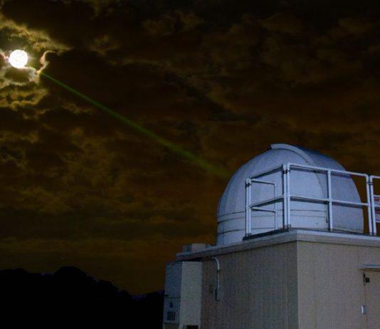 Лазерная установка для точного измерения расстояния от Земли до Луны