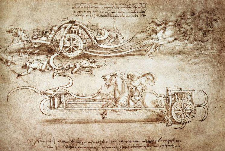 Изобретения Леонардо да Винчи в военном деле