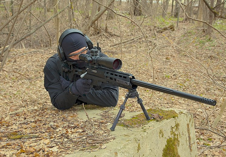 Дальнобойная снайперская винтовка DXL-2 Скальпель Lobaev Arms