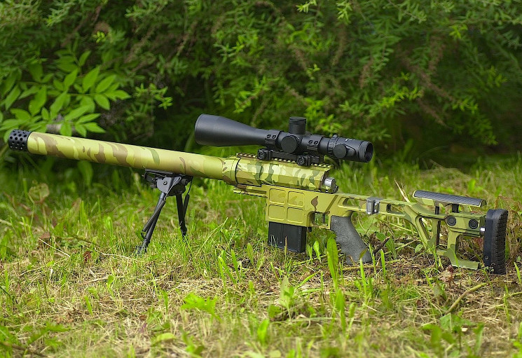 Тактическая винтовка Лобаева ДВЛ-10 Диверсант