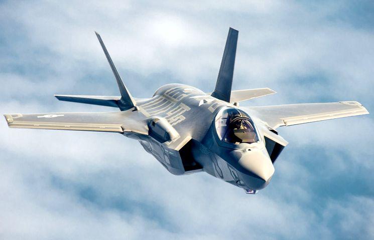 Lockheed Martin F-35 - истребитель-бомбардировщик