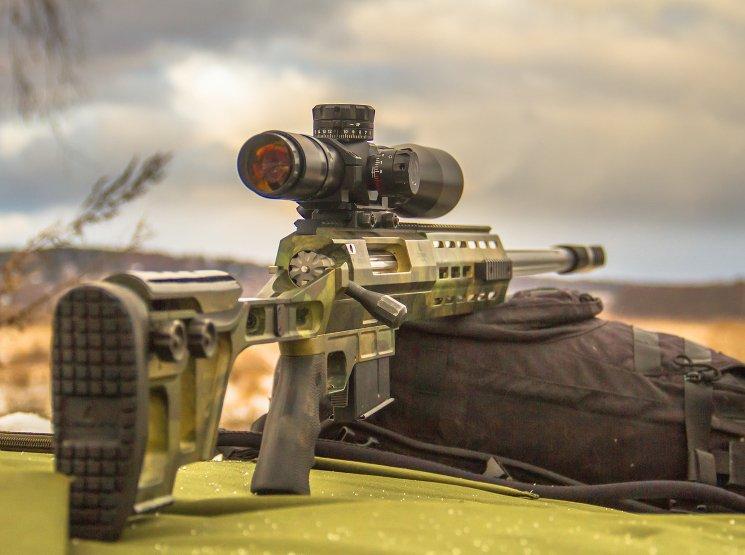 Дальнобойная снайперская винтовка Лобаева DXL-3