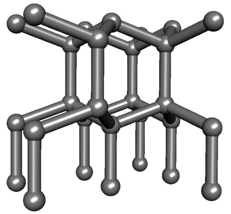 Лонсдейлит - твердость до 152 ГПа