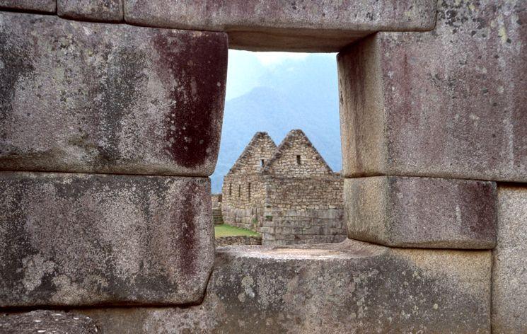 Уникальные стены города Мачу-Пикчу