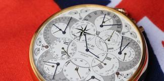 карманные атомные часы Hoptroff