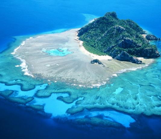 остров монурики государства Фиджи