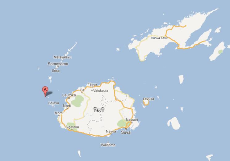 где находится остров Монурики