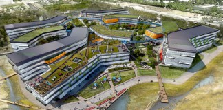 Новая штаб-квартира Google в Калифорнии