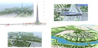 Новый концепт многоуровневой застройки Москвы