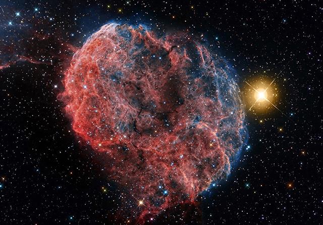 Последствия взрыва сверхновой