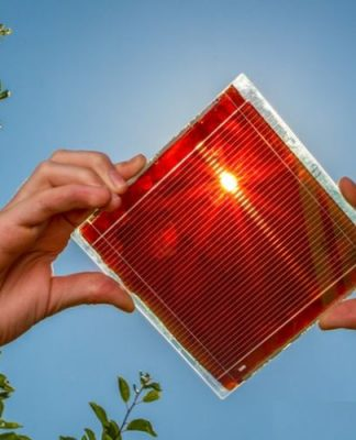 Перовскитные солнечные элементы с повышенным КПД