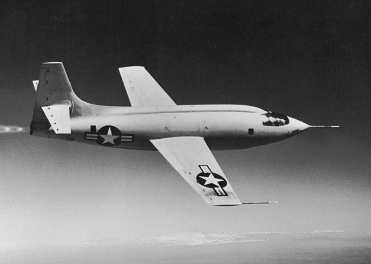 Первый сверхзвуковой самолет Bell XS-1